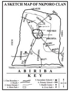 Nkporo History Map