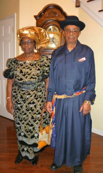 Engineer Nwankwo and Elder (Mrs.) Uche Egwu wish the Nkporo Development Union, USA a happy and joyous convention in 2012,