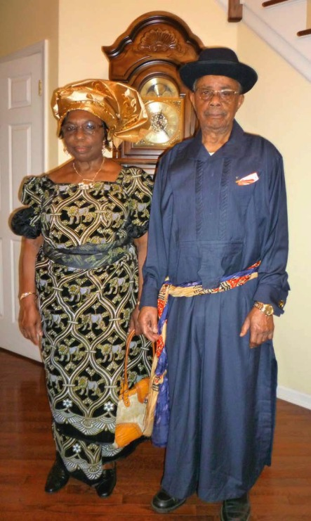 Engineer Nwankwo and Elder (Mrs.) Uche Egwu wish the Nkporo Development Union, USA a happy and joyous convention in 2012,