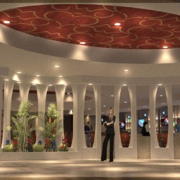 Ramada Plaza Lobby Entrance